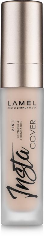 Жидкий консилер для лица - Lamel Professional Insta Cover Conceal