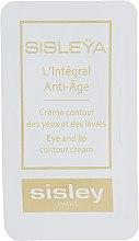 Парфумерія, косметика Крем для контуру губ і очей - Sisley Sisleya Eye and Lip Contour Cream (пробник)