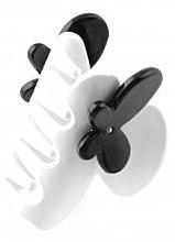 Духи, Парфюмерия, косметика Заколка-краб для волос 232, белая - Moliabal Milano Hair Clip