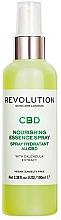 Духи, Парфюмерия, косметика Спрей для лица с экстрактом календулы - Revolution Skincare CBD Nourishing Essence Spray