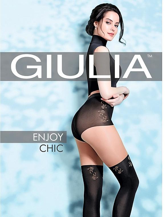 """Колготки для женщин """"Enjoy Chic. Model 4"""" 60 Den, daino - Giulia"""