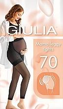 """Духи, Парфюмерия, косметика Леггинсы для беременных """"Mama Leggy Tights model 1"""", 70 Den, nero - Giulia"""