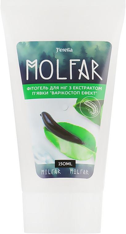 Фитогель для ног с экстрактом пиявки - J'erelia Molfar