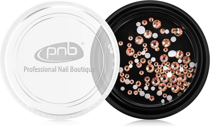 Стразы для ногтей - PNB Champagne Mix SS3,5,10 Glass