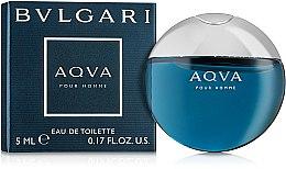 Духи, Парфюмерия, косметика Bvlgari Aqva Pour Homme - Туалетная вода (мини)
