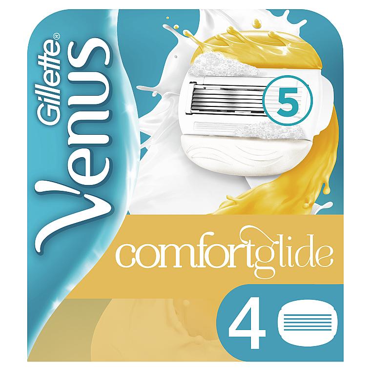 Сменные кассеты для бритья, 4 шт. - Gillette Venus and Olay