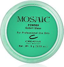 """Духи, Парфюмерия, косметика Акриловая пудра для ногтей """"Jade"""", зеленая - CND Mosaic Powder Kit"""