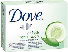 Духи, Парфюмерия, косметика Крем-мыло для тела - Dove Go Fresh Fresh Touch Cream Bar With Cucumber & Green Tea Scent