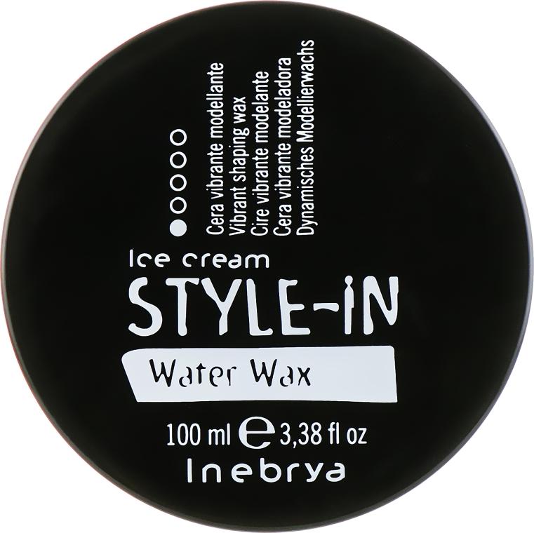 Моделирующий воск для укладки волос - Inebrya Style-In Water Wax — фото N1