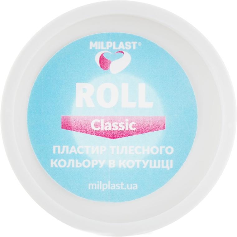 """Пластир тілесного кольору в котушці """"Roll Classic"""" - Milplast — фото N2"""