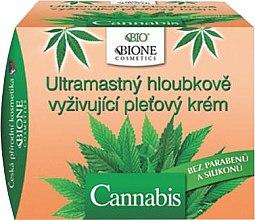 Духи, Парфюмерия, косметика Ультра-питательный крем для лица - Bione Cosmetics Cannabis Ultra Greasy Deeply Nourishing Cream