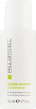Духи, Парфюмерия, косметика Кондиционер для вьющихся волос - Paul Mitchell Smoothing Super Skinny Daily Treatment (мини)
