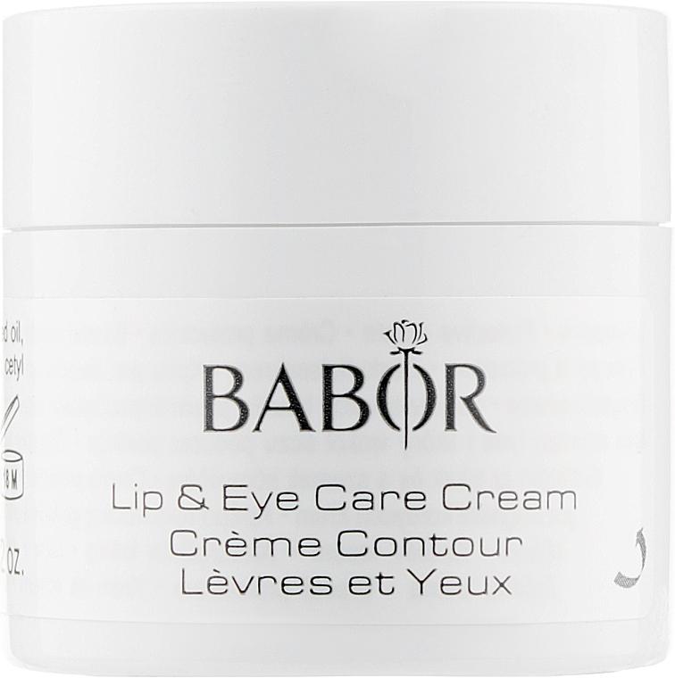 Крем для губ и век - Babor Lip & Eye Care Cream