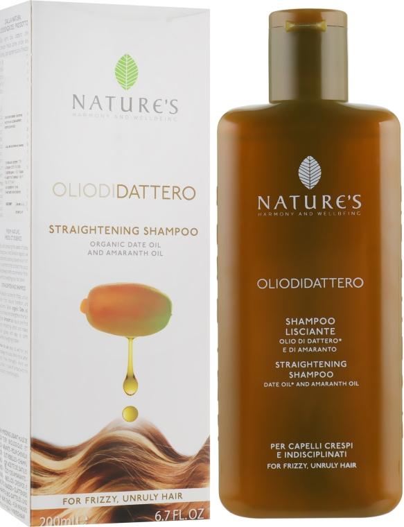 Шампунь для выпрямления волос - Nature's Oliodidattero Straightening Shampoo