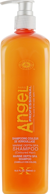 Шампунь для окрашенных волос - Angel Professional Paris Colored Hair Shampoo