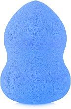Духи, Парфюмерия, косметика Спонж бьюти-блендер грушевидной формы, синий - Omkara
