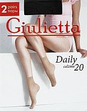 "Духи, Парфюмерия, косметика Носки ""Daily 20 Calzino"" для женщин, nero - Giulietta"