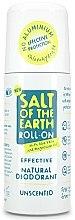 Духи, Парфюмерия, косметика Дезодорант шариковый - Salt of the Earth Effective Unscented Roll-On Deo