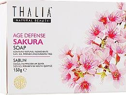 "Духи, Парфюмерия, косметика Натуральное мыло ""Антивозрастное. Сакура"" - Thalia Anti-Aging Sakura Soap"