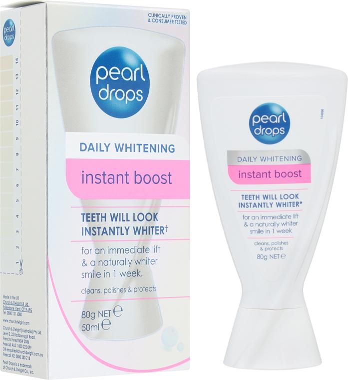 Отбеливающий полироль для зубов - Pearl Drops Instant Boost