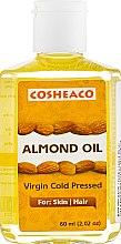Духи, Парфюмерия, косметика Масло миндаля холодного отжима - Cosheaco Almond Oil Virgin Cold Pressed