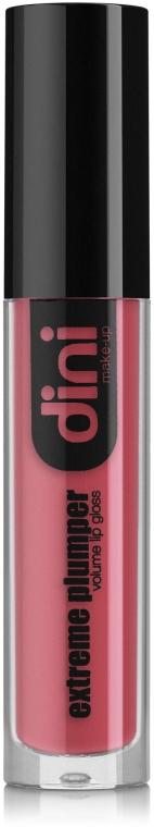 Жидкая матовая помада для губ - Dini Matte Extreme Plumper Volume Lip Gloss