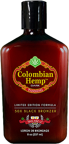 Лосьон для загара с бронзантами на основе конопляного масла - Tan Asz U Columbian Hemp Dark Lotion