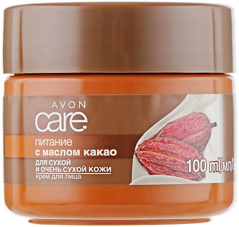 """Крем для лица с маслом какао """"Питание"""" - Avon Care"""