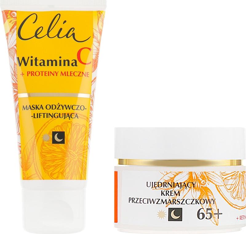 Набор - Celia Witamina C 65+ (mask/60ml + cr/50ml) — фото N2