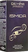 Духи, Парфюмерия, косметика Крем-краска для бровей и ресниц с маслом мирры - DeMira Professional Ismida