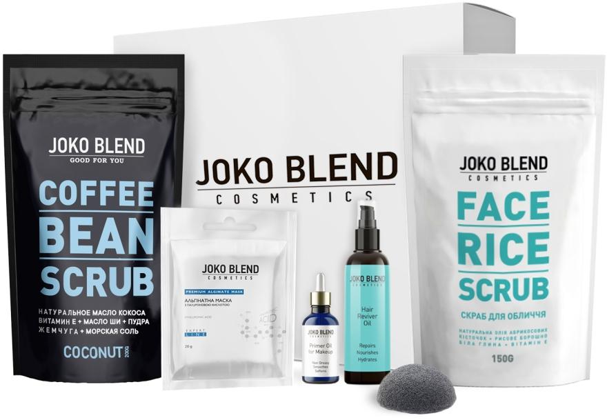 Набор - Joko Blend Beauty Gift Pack (f/scr/150g + b/scr/200g + mask/100g + prim/30ml + sponge)