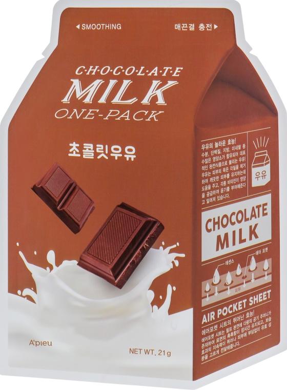 "Тканевая маска ""Шоколад"" - A'pieu Chocolate Milk One-Pack"