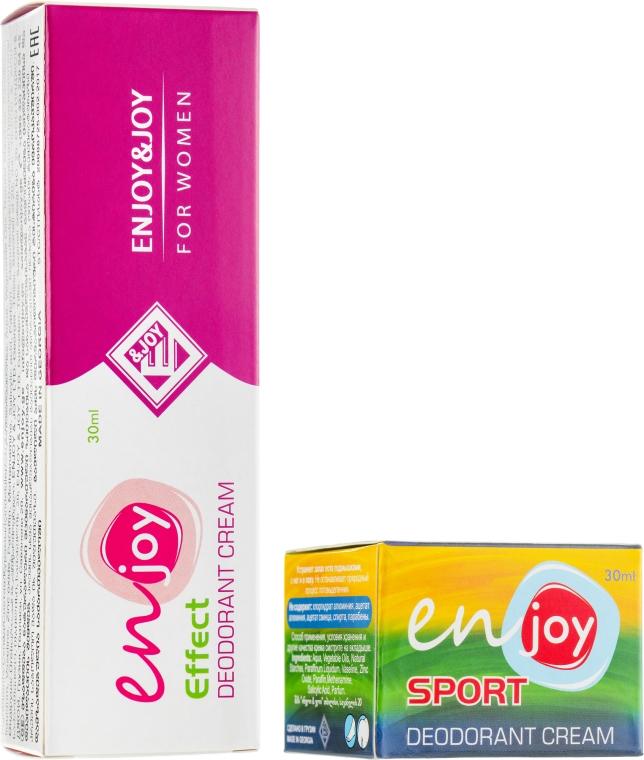 "Набор ""Womens Style"" - Enjoy & Joy (cr/deo/2x30ml)"