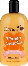 Духи, Парфюмерия, косметика Крем для ванны и душа - I Love... Mango Cheesecake Bath And Shower Cream
