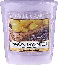 "Ароматическая свеча ""Лимон и лаванда"" - Yankee Candle Scented Votive Lemon Lavender — фото N1"