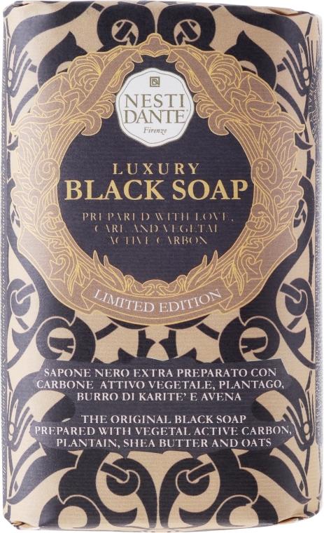 "Мыло ""Роскошное чёрное"" - Nesti Dante Luxury Black Soap"