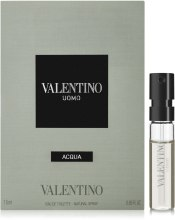 Духи, Парфюмерия, косметика Valentino Uomo Acqua - Туалетная вода (пробник)