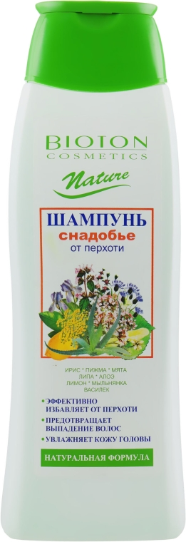Шампунь проти лупи - Bioton Cosmetics Nature Shampoo — фото N1