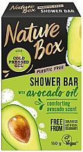 Духи, Парфюмерия, косметика Натуральное твердое мыло - Nature Box Avocado Oil Shower Bar
