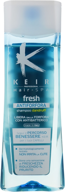 Шампунь против перхоти - Keir Hair-Spa Fresh Dandruff Shampoo