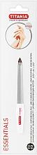 Духи, Парфюмерия, косметика Пилочка для ногтей изогнутая с микросапфировым покрытием размер 5 - Titania Soligen Saphire Nail File
