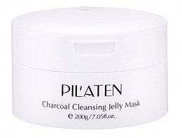 Духи, Парфюмерия, косметика Маска для лица - Pilaten Charcoal Cleansing Jelly Mask Face Mask