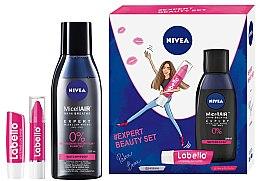 Духи, Парфюмерия, косметика Набор - Nivea Nivea Expert Beauty (micel/water/200ml + l/balm/3g + l/balm/4.8g)
