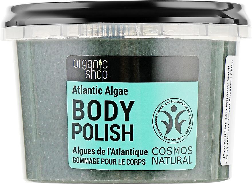 """Скраб для тела """"Атлантические водоросли"""" - Organic Shop Body Scrub Organic Algae & Salt"""