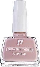 Духи, Парфюмерия, косметика Лак для ногтей - Seventeen Supreme