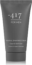 Духи, Парфюмерия, косметика Крем для бритья минеральный для мужчин - -417 Men's Collection Mineral Shaving Cream