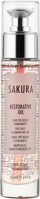 Восстанавливающее масло - Inebrya Sakura Restorative Oil