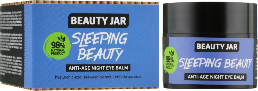 Ночной антивозрастной бальзам вокруг глаз - Beauty Jar Sleeping Beauty Anti-Age Night Eye Balm