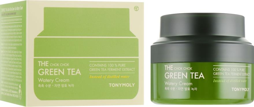 Крем на основе экстракта зелёного чая - Tony Moly The Chok Chok Green Tea Watery Cream