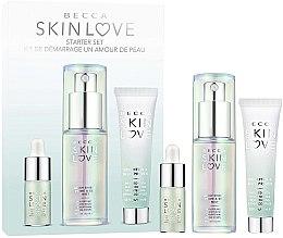 Духи, Парфюмерия, косметика Набор - Becca Skin Love Starter Set (elixir/2ml+primer/15ml+base/25ml)